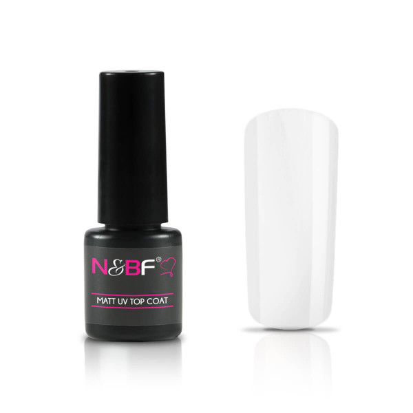 Nails and Beauty Factory Matt UV Top Coat 8ml