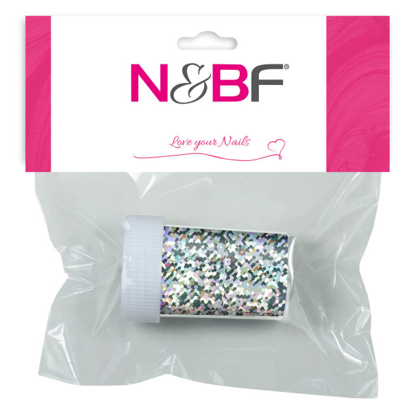 Nails-and-Beauty-Factory-Nailart-Transfer-Nagelfolie-Nailfoil-Glimmer-Silver