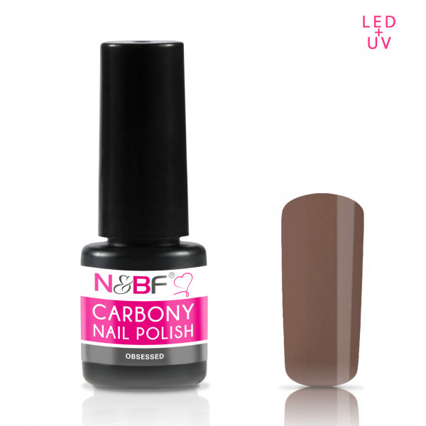 Nails & Beauty Factory Carbony Nail Polish Obsessed