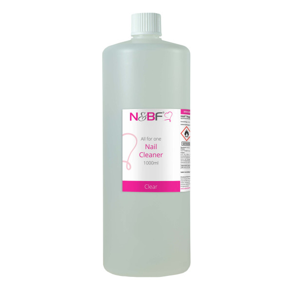 Nails & Beauty Factory Nagel Cleaner all for one - Klar 1000ml