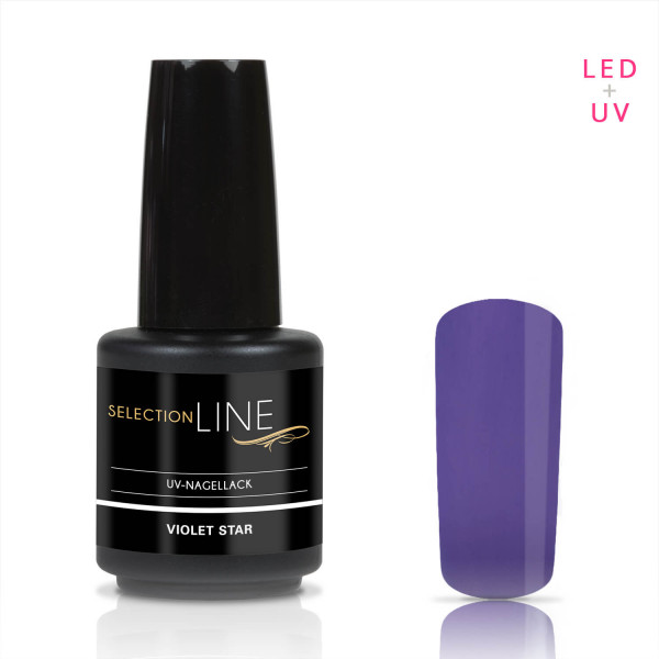 Nails & Beauty Factory Selection Line UV Nagellack Violet Star 15ml