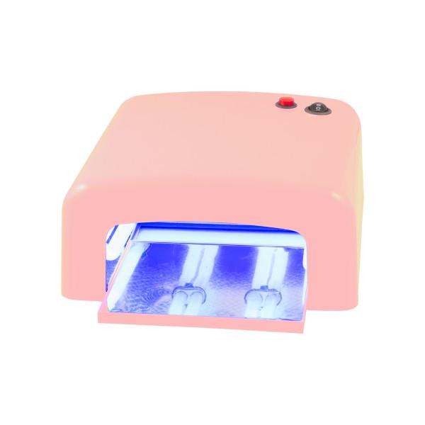 Nails Factory UV Lichthärtungsgerät eckig Pink