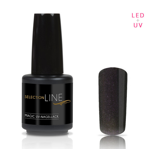 Nails & Beauty Factory Selection Line Magic UV Nagellack Black Purple 15ml