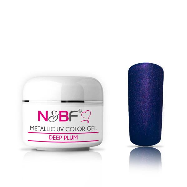 Nails-and-Beauty-Factory-Metallic-UV-Color-Gel-Farbgel-Deep-Plum