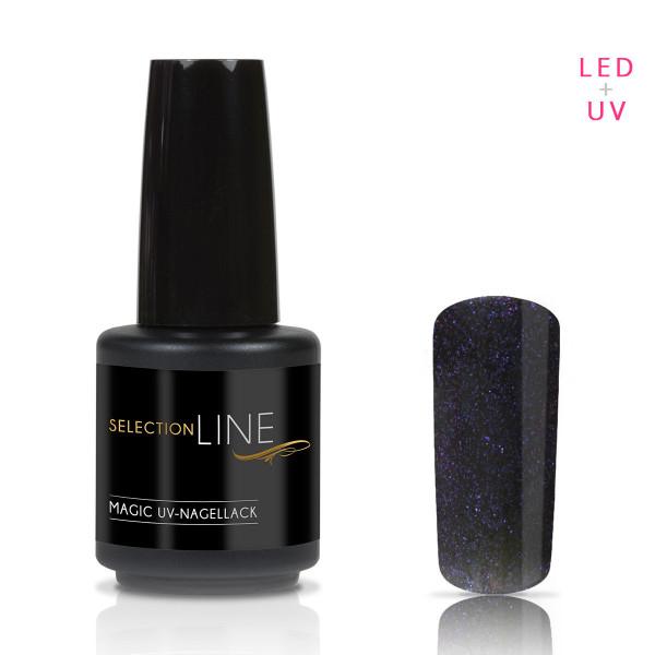 Nails & Beauty Factory Selection Line Magic UV Nagellack Black Blue 15ml