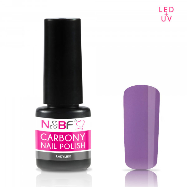 Nails & Beauty Factory Carbony Nail Polish Ladylike