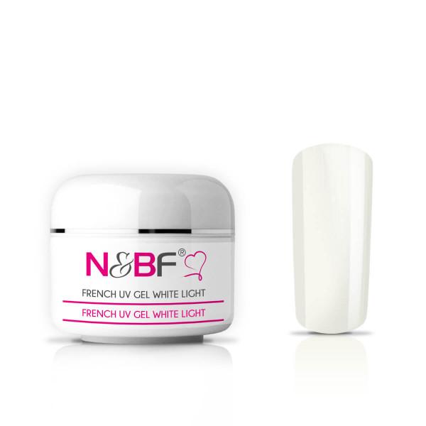 Nails & Beauty Factory French White Light UV Gel mittelviskos 5 ml