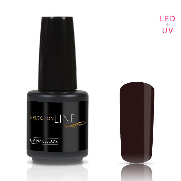 Nails & Beauty Factory Selection Line UV Nagellack Dark Brown 15ml