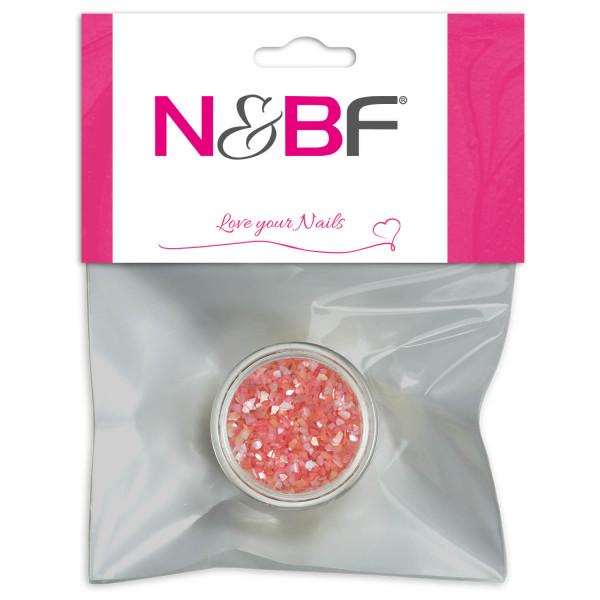Nails-and-Beauty-Factory-Nail-Art-Crushed-Shells-Coral