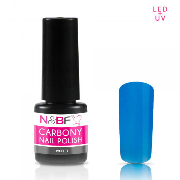 Nails & Beauty Factory Carbony Nail Polish Tweet IT