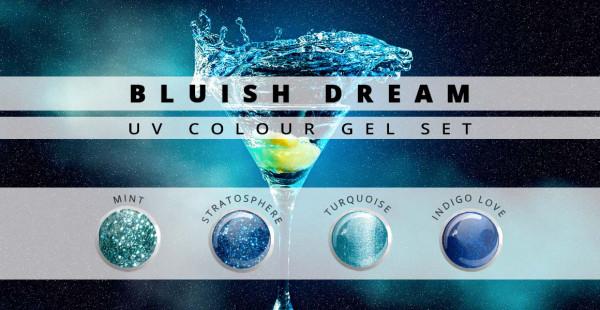 Nails & Beauty Factory Farbgel Set Bluish Dream
