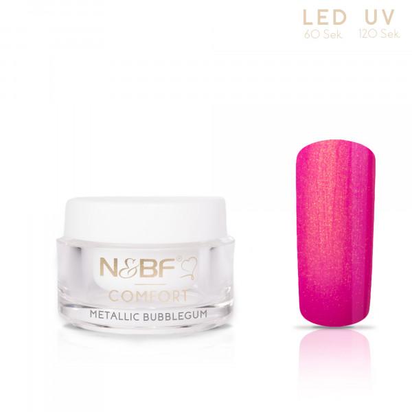 Nails & Beauty Factory Comfort Metallic Farbgel Bubblegum 5ml
