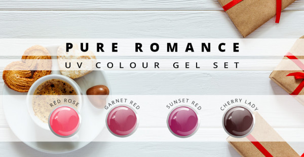 Nails & Beauty Factory Color Gel Set Pure Romance