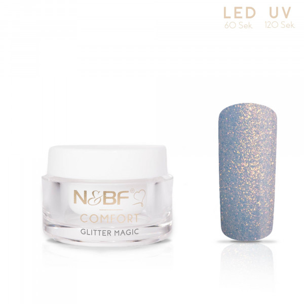 Nails & Beauty Factory Comfort Farbgel Glitter Magic 5ml