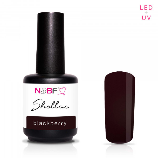 Nails & Beauty Factory Shellac Blackberry 12ml