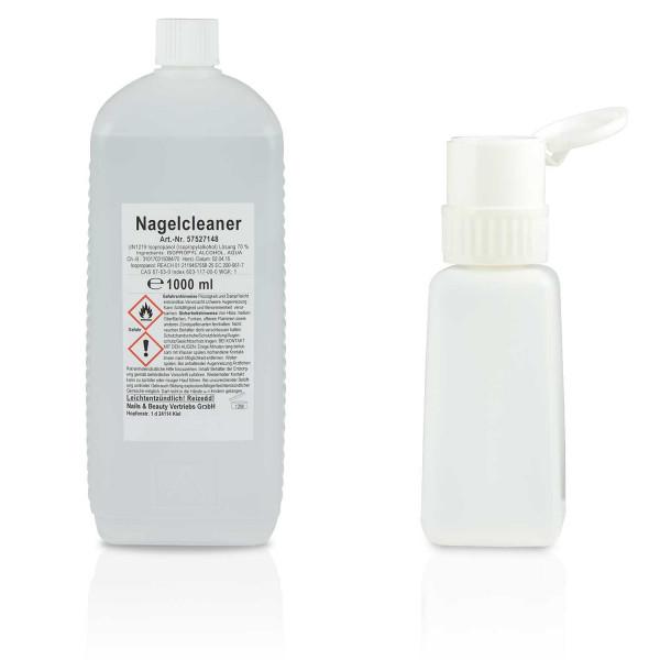 Nails Factory Nagel Cleaner 1000ml+Pumpflasche 250ml