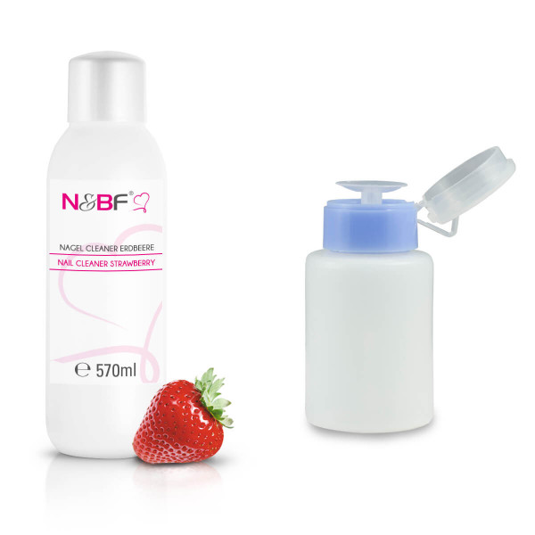 Nails-Beauty-Factory-Nail-Cleaner-Strawberry-570-ml-Dispenser-Blue