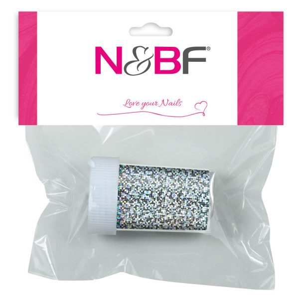 Nails-and-Beauty-Factory-Nailart-Transfer-Nagelfolie-Nailfoil-Glitter-Silver