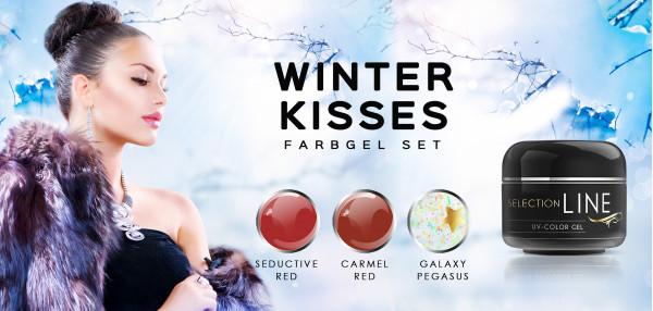 Nails Factory Farbgel Set Winter Kisses