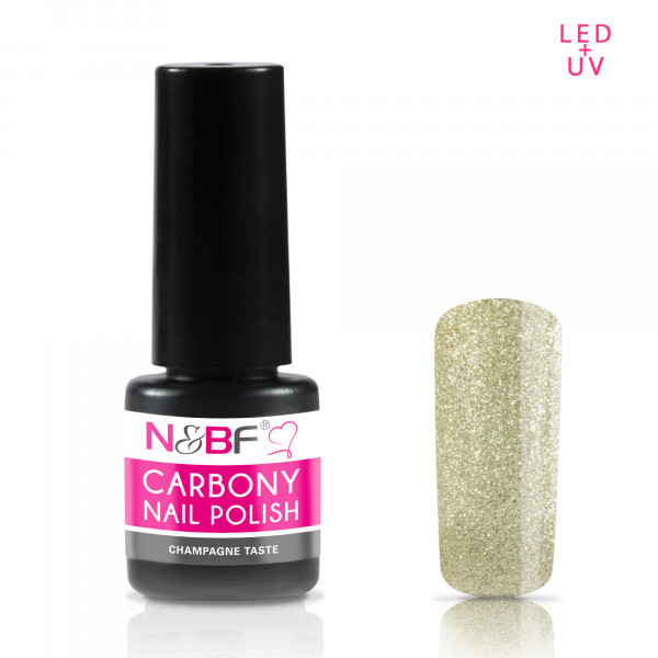 Nails & Beauty Factory Carbony Nail Polish Champagne Taste