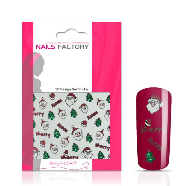 Nails Factory Nagelsticker Xmas