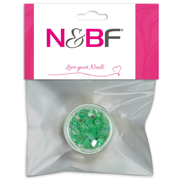 Nails-and-Beauty-Factory-Nailart-Glitter-Hearts-Herzen-Jungle-Green