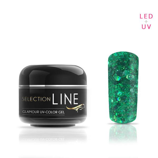 Selection Line Glamour Farbgel Green 5ml