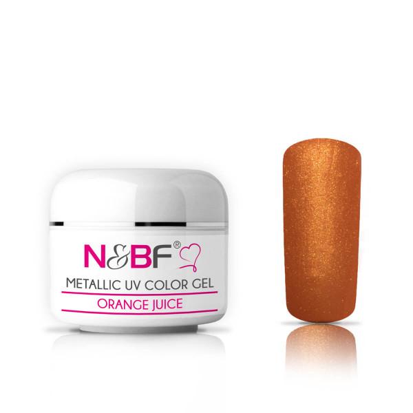 Nails-and-Beauty-Factory-Metallic-UV-Color-Gel-Farbgel-Orange-Juice