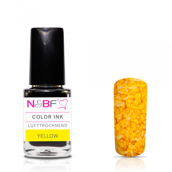 Nails & Beauty Factory Color Ink Yellow 12ml