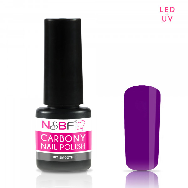 Nails & Beauty Factory Carbony Nail Polish Hot Smoothie 5ml