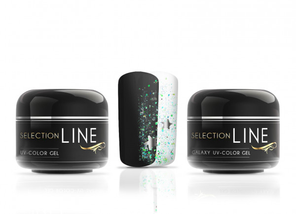 Selection Line Galaxy Color Gel Lynx meets Black Panther 2x5ml
