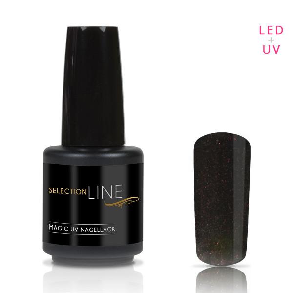Nails & Beauty Factory Selection Line Magic UV Nagellack Black Plum 15ml
