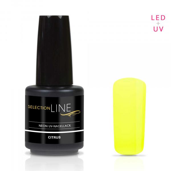 Nails Factory Selection Line Neon UV Nagellack Citrus 15ml