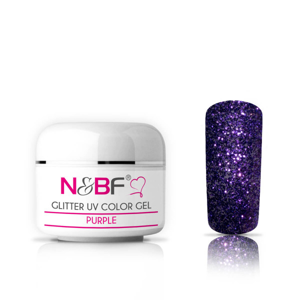 Nails-and-Beauty-Factory-Glitter-UV-Color-Gel-Farbgel-Purple