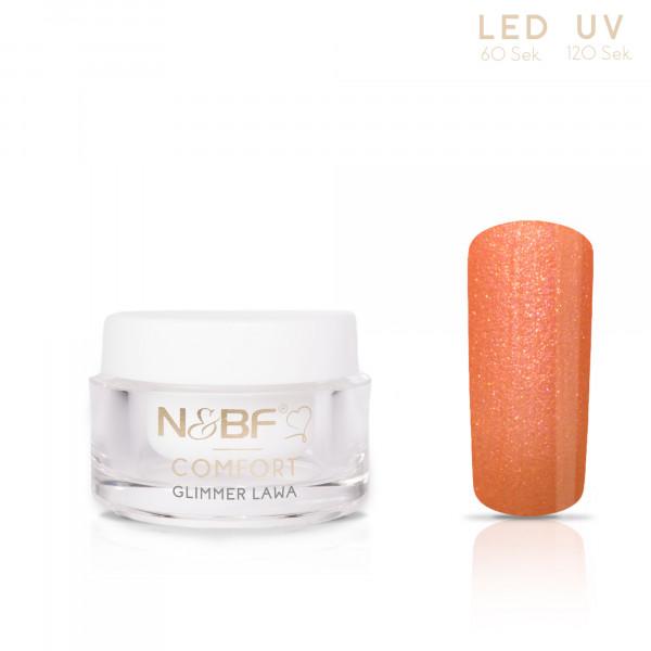 Nails & Beauty Factory Comfort Glimmer Farbgel Lawa 5ml