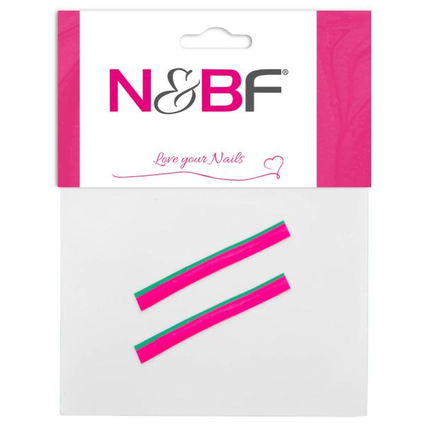 Nails-and-Beauty-Factory-Nailart-Fimo-Fruechte-Fruits-Apfelhaelften-Pink