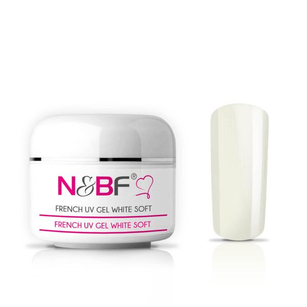 Nails & Beauty Factory French White Soft UV Gel mittelviskos 15ml