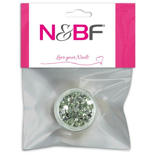 Nails-and-Beauty-Factory-Strasssteine-Herzen-Rhinestones-Hearts-Mint