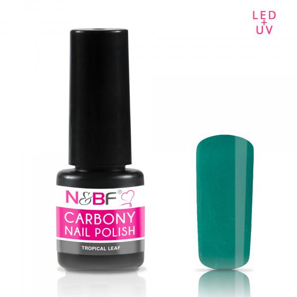 Nails & Beauty Factory Carbony Nail Polish Tropical Leaf