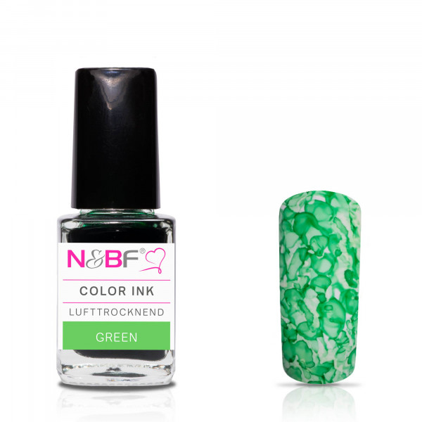 Nails & Beauty Factory Color Ink Green 12ml