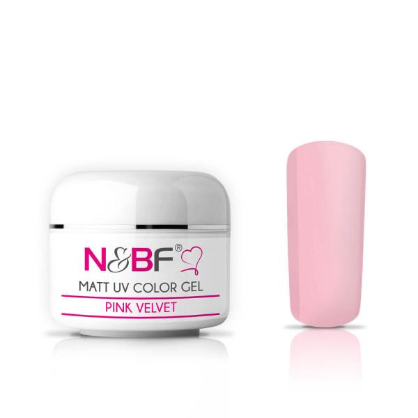 Matt Farbgel Pink Velvet 5ml