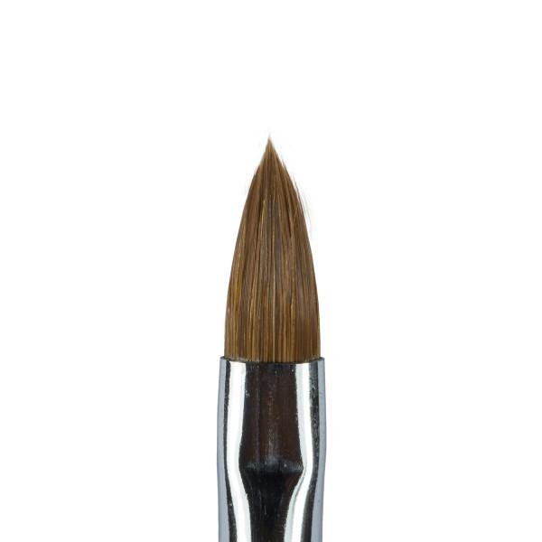 Nails Factory Profi Studio Gel Pinsel Kolinsky runde Form Gr. 8 Kopf
