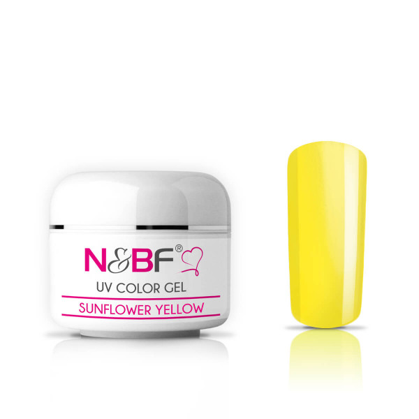 Nails-and-Beauty-Factory-UV-Color-Gel-Farbgel-Sunflower-Yellow