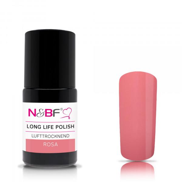 Nails & Beauty Factory Long Life Nagellack Rosa 15ml