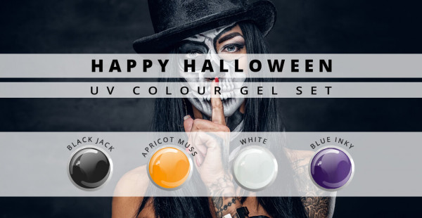 Nails and Beauty Factory Color Gel Set Happy Halloween