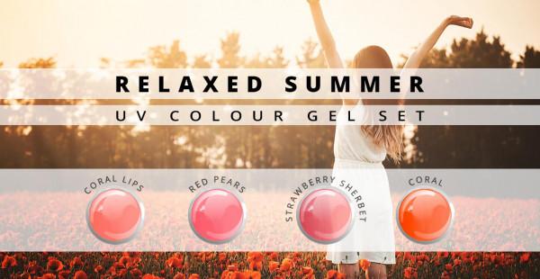 Nails & Beauty Factory Farbgel Set Relaxed Summer 4er Set