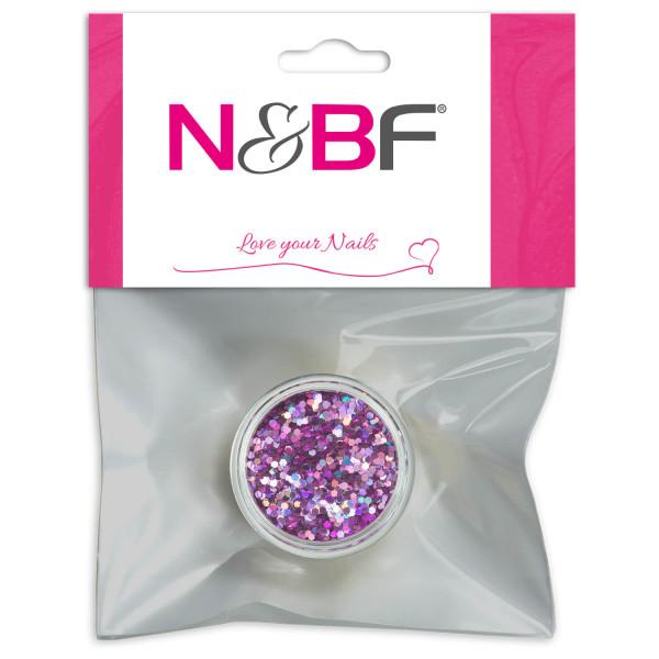 Nails Factory Nailart Pailletten klein Light Purple Blister