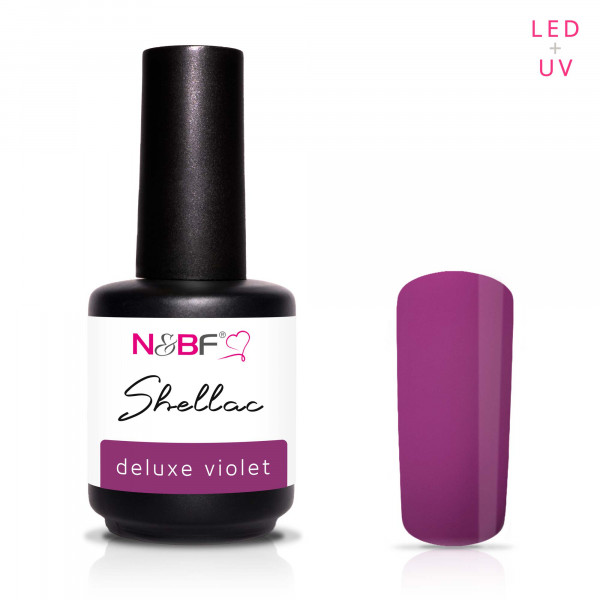 Nails & Beauty Factory Shellac Deluxe Violet 12ml