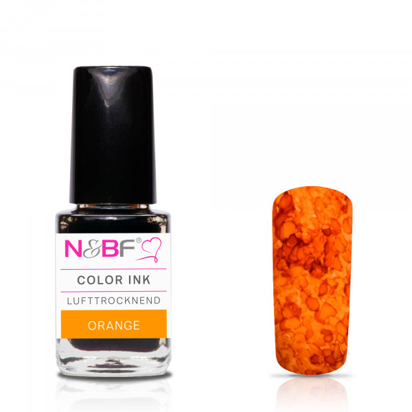 Nails & Beauty Factory Color Ink Orange 12ml