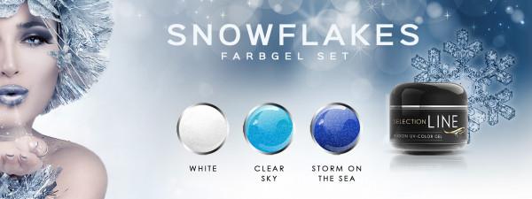 Nails Factory Snowflakes Farbgel Set